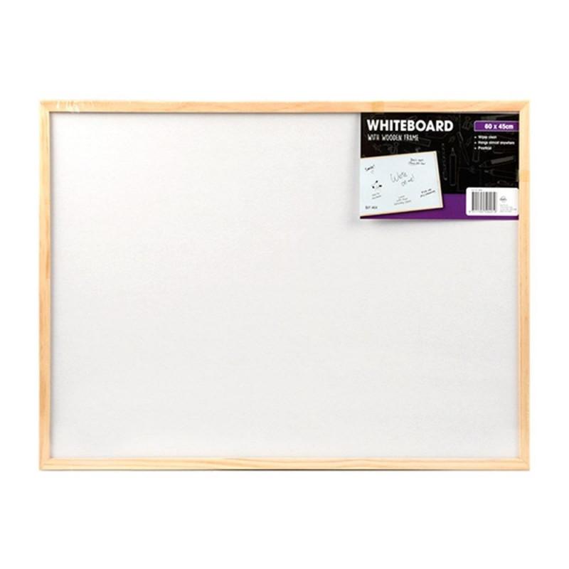 e44202f68b Πίνακας λευκός μαρκαδόρου με ξύλινο πλαίσιο 30x40 cm - OfficeMarket ...