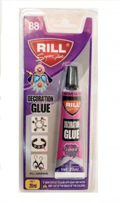 Κόλλα super glue decoration 20ml  Rill