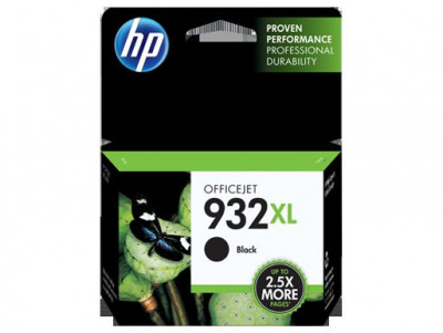 Hewlett Packard-Inkjet Cartridge-Cn053A Black #932XL