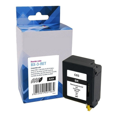 Canon - FAX  Cartridge BX-3  B100 Black