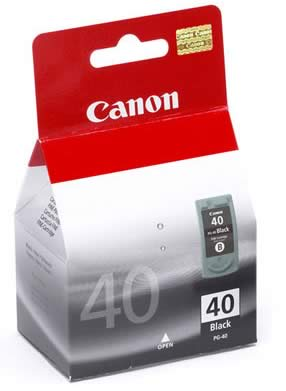 Canon inkjet cartridges PG-40 Black
