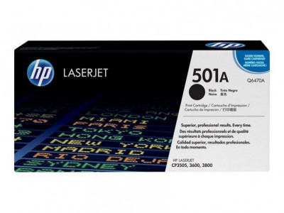 Ηewlett  Packard - Laser Toner color 3600  Q6470A  black