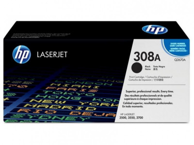 Ηewlett Packard - LaserJet Toner color 3500/3700 Q2670A black #308A