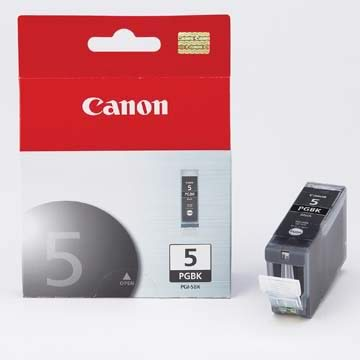 Canon - Inkjet Cartridge PGI-5 black