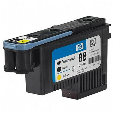 Ηewlett  Packard - Print Head Inkjet C9381a black+yellow 88