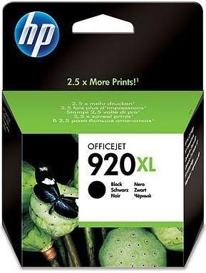 Hewlett Packard-Inkjet Cartridge-Cd3975AE Black #920xl