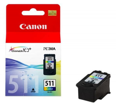 Canon - Inkjet Cartridge CL-511 Colour
