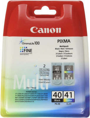 Canon PG 40 / CL 41 Multipack Black & Color