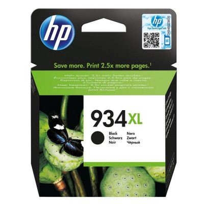 Hewlett Packard-Inkjet Cartridge-C2P23AE Black #934xl