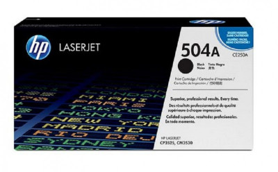 Ηewlett Packard - Laser Toner color  CP3525 - CE250A black