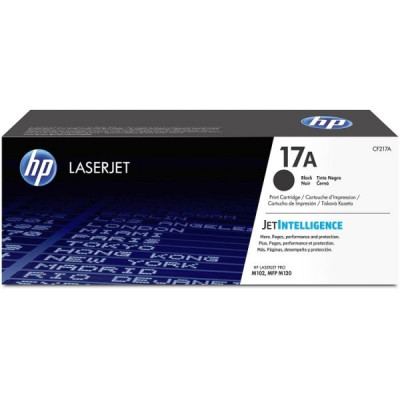 HP 17A (CF217A) Black LaserJet Toner Cartridge