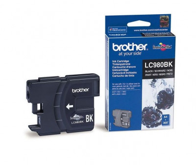 Brotther inkjet cartridge LC 980 Black  6ml