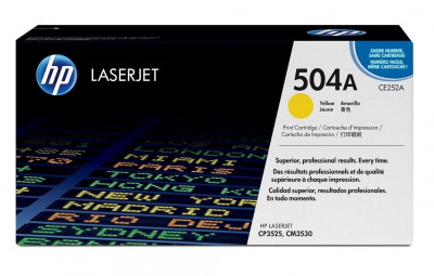 Ηewlett Packard - Laser Toner color CP3525/CM3530 Yellow  CE252A