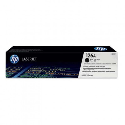 Ηewlett Packard - Laser Toner color CP1025 CE310 black #126A