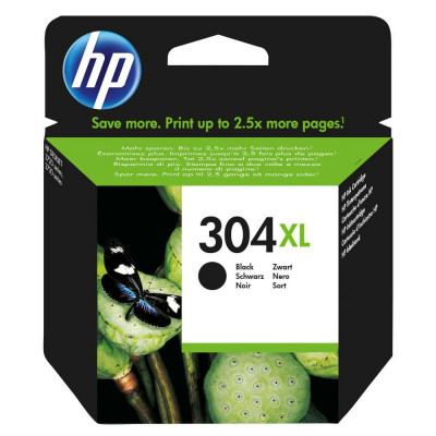 Hewlett Packard-Inkjet Cartridge N9K08AE Black # 304XL