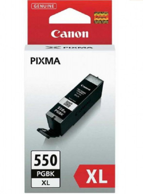 Canon Inkjet Cartridge PGΙ-550XL Black Pigment