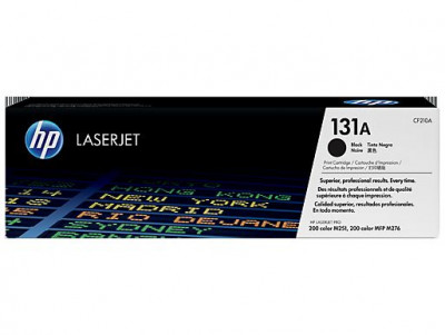 Ηewlett Packard - Laser Toner color pro200 CF210  black # 131A