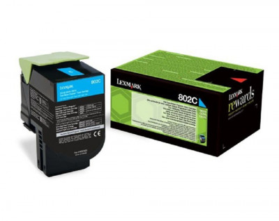 Lexmark - Laser color Toner cx310/410 color 802SC-802SM-802SY (3colours)