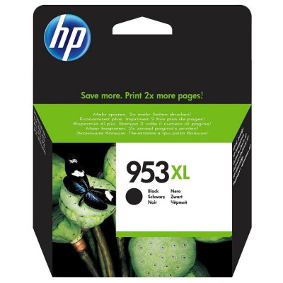 Hewlett Packard-Inkjet Cartridge  L0S70AE Black # 953XL
