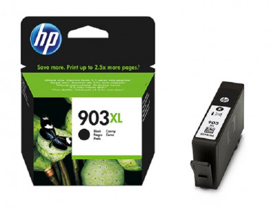 Hewlett Packard-Inkjet Cartridge-T6M15AE  Black #903xl